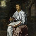 Diego Rodriguez De Silva y Velazquez - Saint John the Evangelist on the Island of Patmos