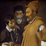 Giotto di Bondone - Water Vendor of Seville