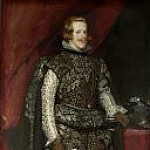 Diego Rodriguez De Silva y Velazquez - Philip IV of Spain in Brown and Silver