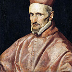 Diego Rodriguez De Silva y Velazquez - Portrait of the Cardinal Gaspar de Borja y Velasco [workshop]