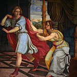 Peter Von Cornelius - Joseph and Potiphpars Wife