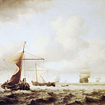 Willem van de Velde the Younger - #05892