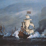 Willem van de Velde the Younger - Velde-The-Younger_The_Battle_Of_Kijkduin_Near_Texel_(21_August_1673)_1687