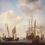 Willem van de Velde the Younger - #05886