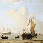 Willem van de Velde the Younger - #05891