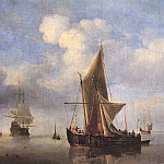 Willem van de Velde the Younger - #05883