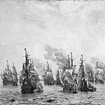 Velde I van de Willem Sea battle Sun, Брам Ван Вельде
