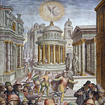 Giorgio Vasari - Massacre of Coligny and the Huguenots on Saint Bartholomew's Day, 24 August 1572