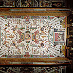 Alessandro Allori - Ceiling from the Vasari Corridor