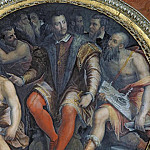 Cosimo I and His Artists, from the Sala di Cosimo I