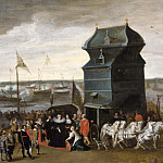 Unknown painters - Queen Marie de Medici Disembarking in Antwerp [After]