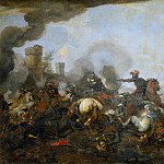 Philipp Peter Roos - Battle Scene