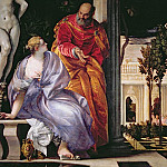 Веронезе (Паоло Кальяри) - Veronese (Paolo Caliari) - Bathsheba Bathing detail (end