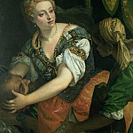Judith with the head of Holofernes, Veronese (Paolo Cagliari)