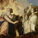 Female figure breaking her chains, Veronese (Paolo Cagliari)