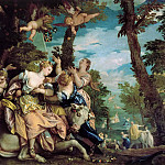 Веронезе (Паоло Кальяри) - VERONESE THE RAPE OF EUROPE, VENEDIG