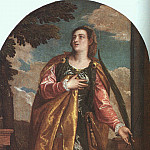 St. Lucy and a Donor, Veronese (Paolo Cagliari)
