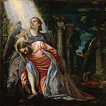 Veronese (Paolo Cagliari) - Christ in the Garden of Gethsemane