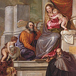 The Holy Family with St. John the Baptist, St. Anthony Abbot and St. Catherine, Veronese (Paolo Cagliari)