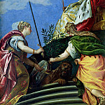 Venice enthroned between Justice and Peace, Veronese (Paolo Cagliari)