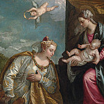 Allegory of the City of Venice Adoring the Madonna and Child, Veronese (Paolo Cagliari)