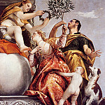 Veronese (Paolo Cagliari) - Allegory of Love IV