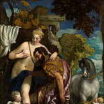 Veronese (Paolo Cagliari) - Mars and Venus United by Love (1570-е)