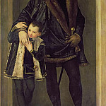 Giovanni Battista Cima da Conegliano - Giuseppe da Porto and his Son Adriano