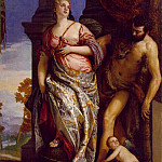 Veronese Allegory of Wisdom and Strength, Veronese (Paolo Cagliari)