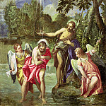 The Baptism of Christ, Veronese (Paolo Cagliari)