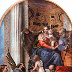 Madonna Enthroned with Saints, Veronese (Paolo Cagliari)