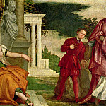 A Young Man Between Virtue and Vice, Veronese (Paolo Cagliari)