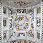 Universal Harmont, or Divine Love, Vault of the Hall of the Olympus, Veronese (Paolo Cagliari)