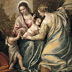Madonna and Child with St. Elizabeth, the Infant St. John the Baptist and St. Justina, Veronese (Paolo Cagliari)