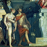 Luca Signorelli - Venus and Mercury presenting her son Anteros to Jupiter