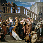 Veronese (Paolo Cagliari) - Esther and Ahasuerus