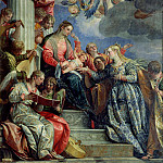 The Mystic Marriage of St. Catherine, Veronese (Paolo Cagliari)
