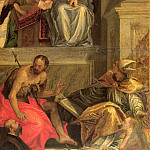 Sketch for the Bevilacqua Altarpiece, Veronese (Paolo Cagliari)