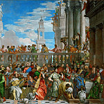 The Wedding Feast at Cana, Veronese (Paolo Cagliari)
