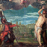 Christ Arresting the Plague with the Prayers of the Virgin, St. Rocco and St. Sebastian, Veronese (Paolo Cagliari)