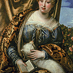 Lady or St. Agnes, Veronese (Paolo Cagliari)