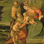 The Holy Family with St. Elizabeth and John the Baptist, Veronese (Paolo Cagliari)