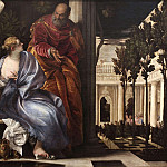 Pietro Perugino - Bathsheba at her Toilet