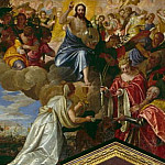 Sebastiano Venier gives thanks to the Saviour, Veronese (Paolo Cagliari)