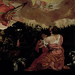 Moses and the Burning Bush, Veronese (Paolo Cagliari)