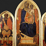 Madonna and Child with Saints Michael and Ursula