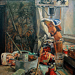 Heinrich Vogeler - Puppet workshop