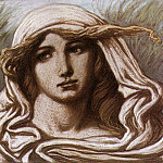 Elihu Vedder - Vedder_Elihu_Head_of_a_Young_Woman_1900