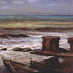 Элиу Веддер - vedder_waves_at_palo_1874
