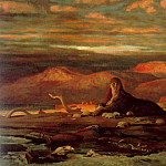 Elihu Vedder - The_Sphinx_of_the_Seashore